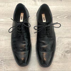 Joseph Abboud Black Wingtip Dress Shoes Size 12
